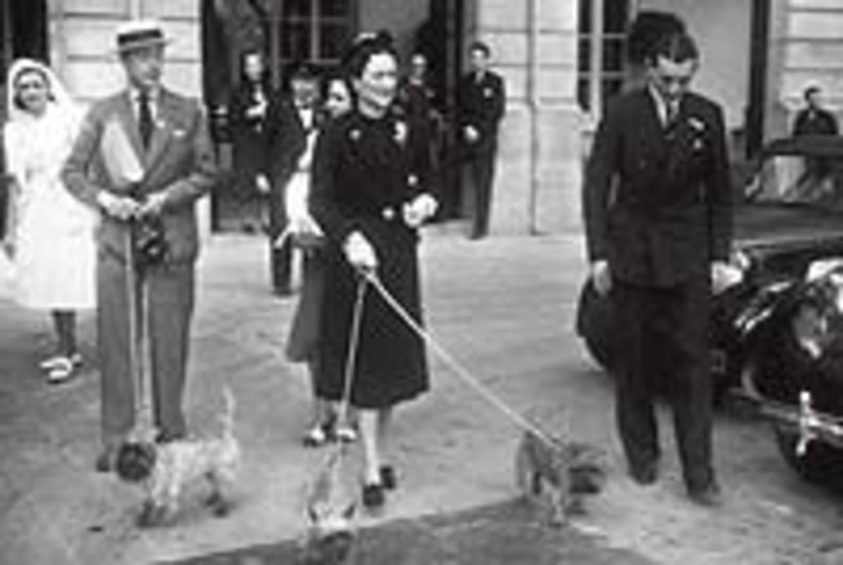 Dukes of Windsor at the Ritz, 1940. Credit: www.elmundo.com
