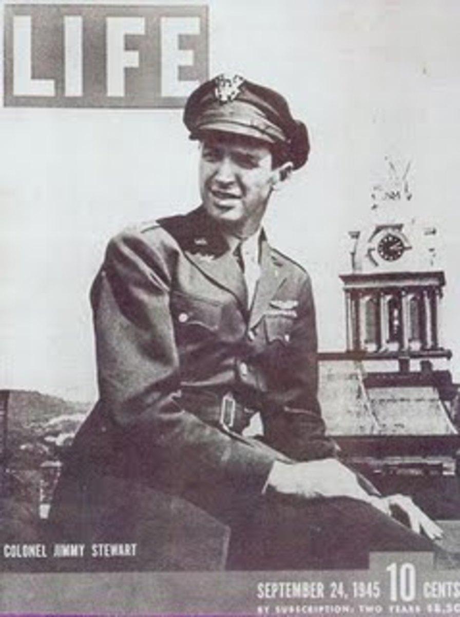 Jimmy Steward in Life. Credit: www.historiadelahumanidad.com