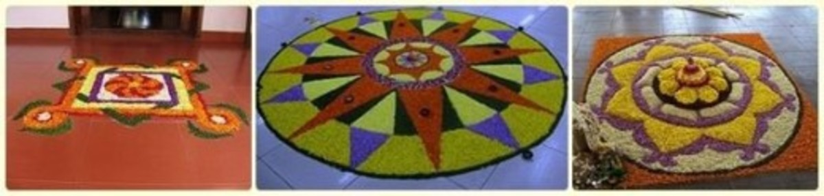Pookalam - Floral Decoration of Kerala