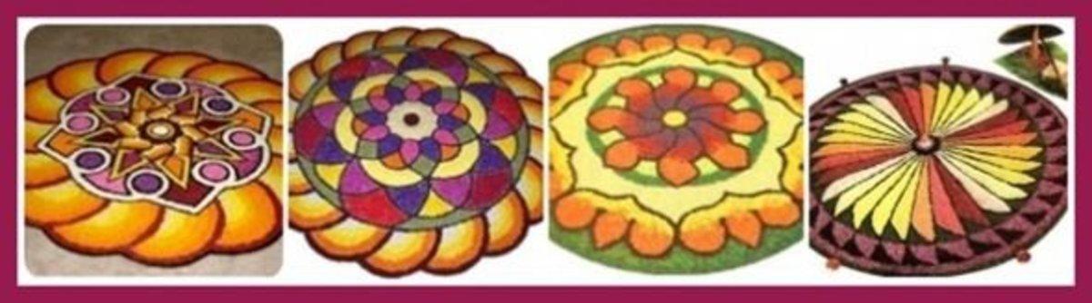Pookalam Designs
