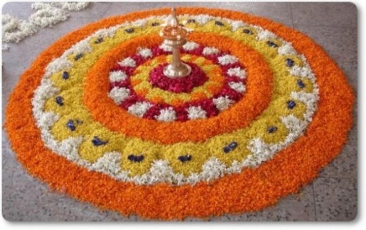 Pookalam - Floral Carpet