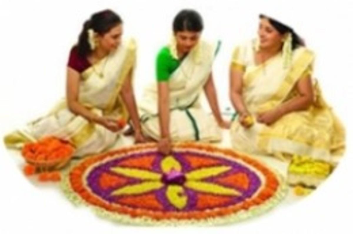 How to Make Pookalam