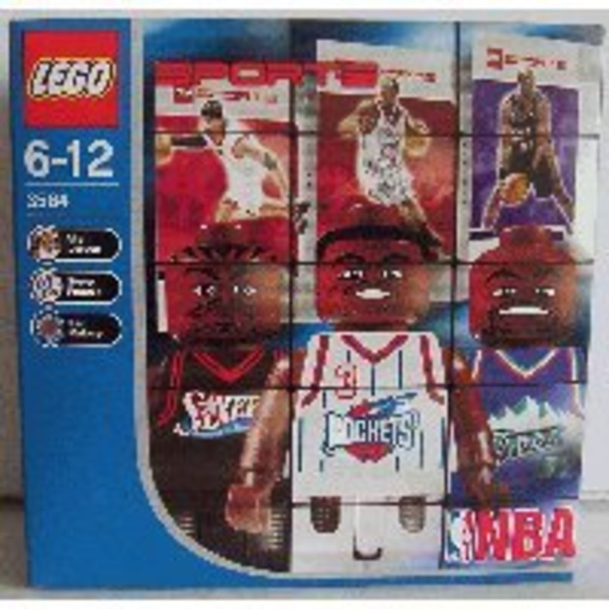 Lego NBA Collectors Set #5 in its box