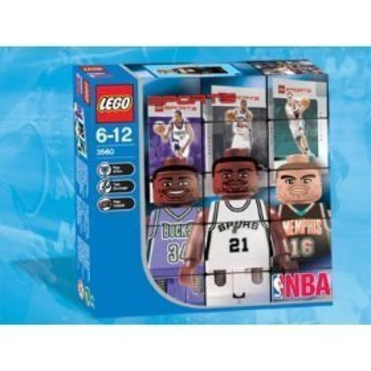 NBA Collector Set #1 in its box
