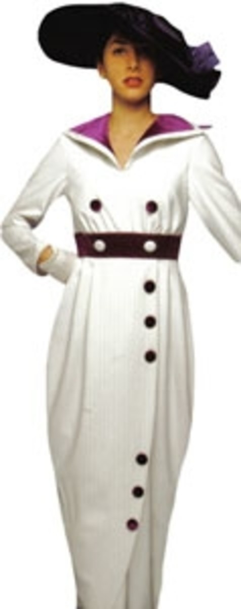 Titanic Edwardian  Women's Dress