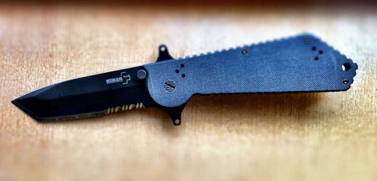 Boker Plus Armed Force Tanto Folder II