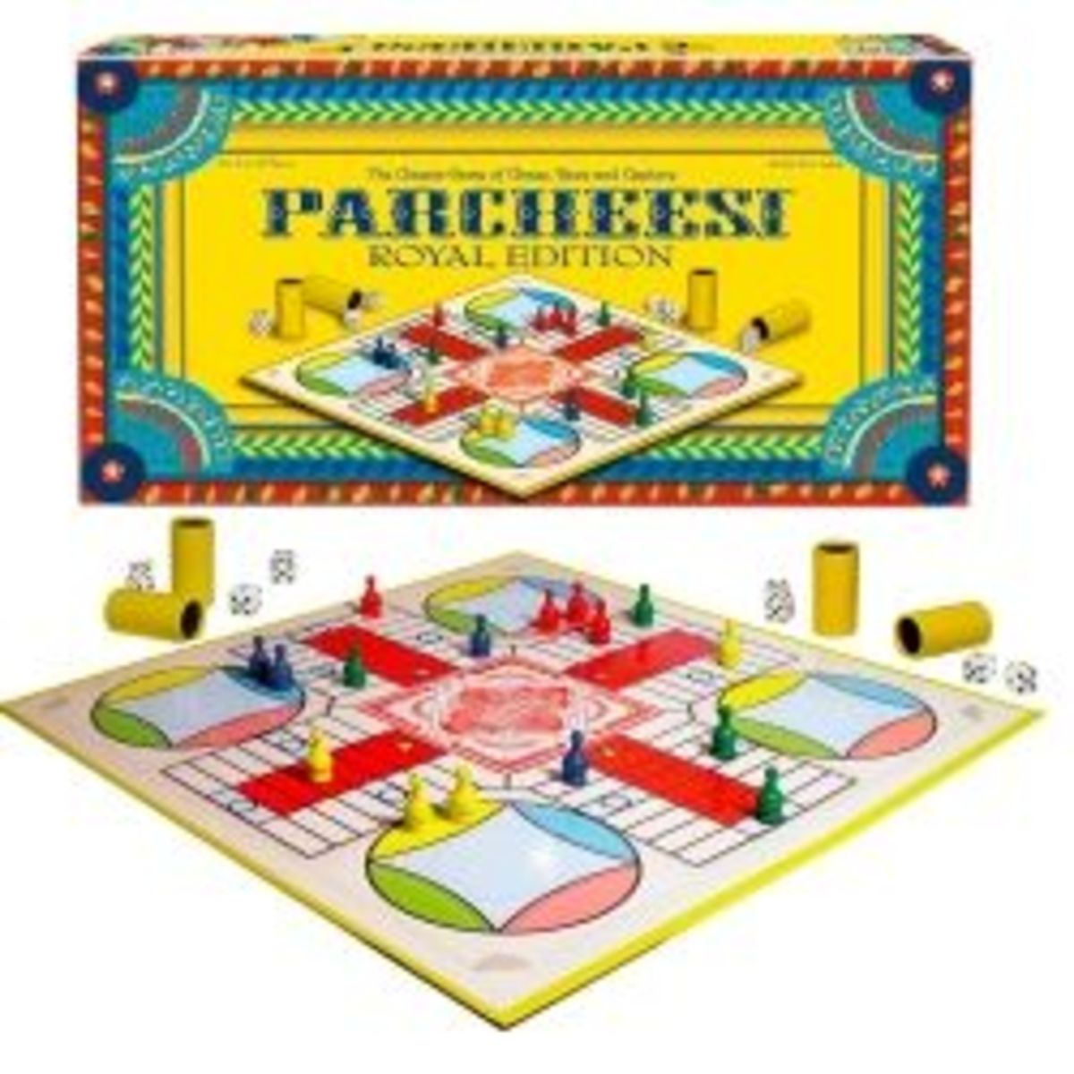 The Royal Edition Parcheesi Board Game