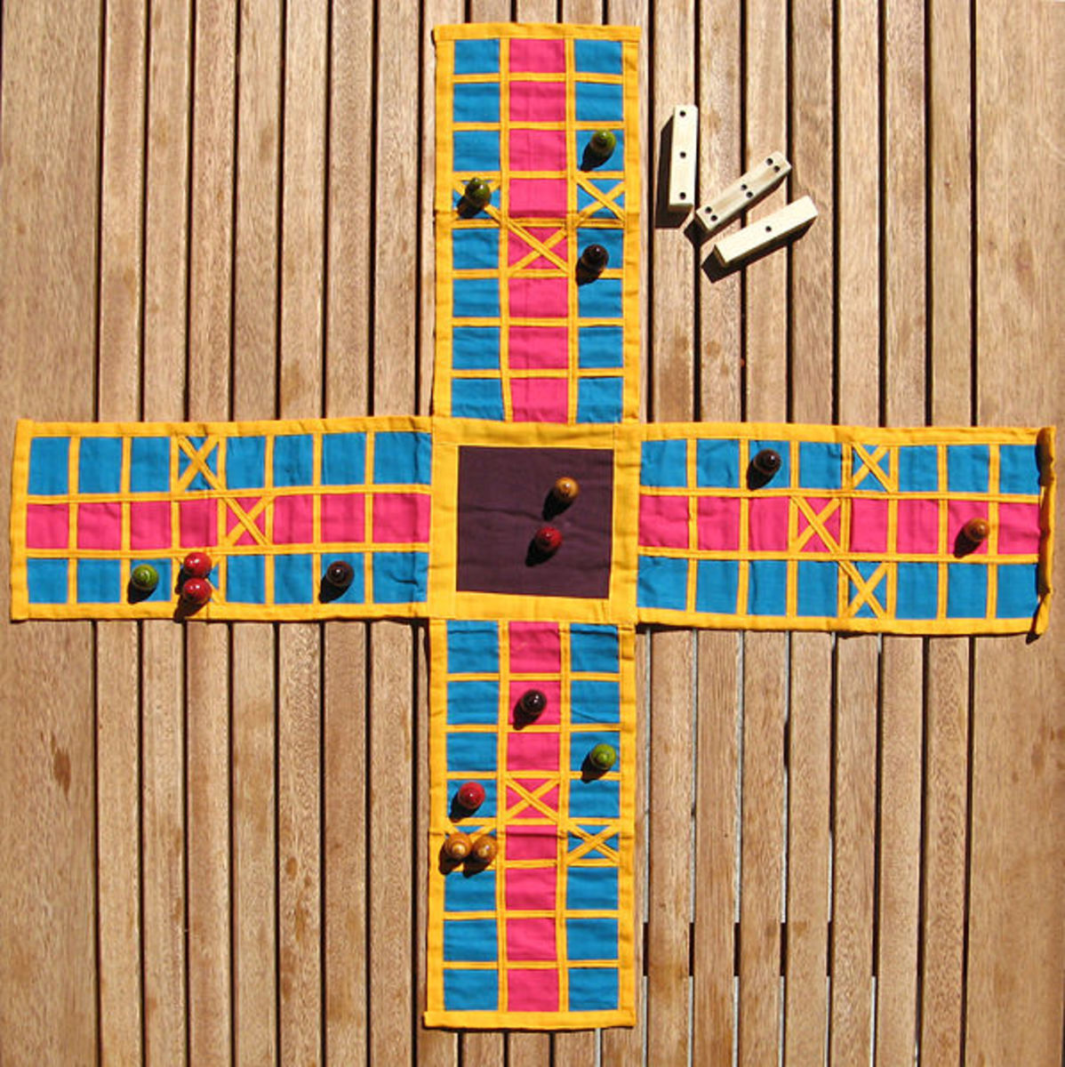 Pachisi Board (courtesy of wiki.org)