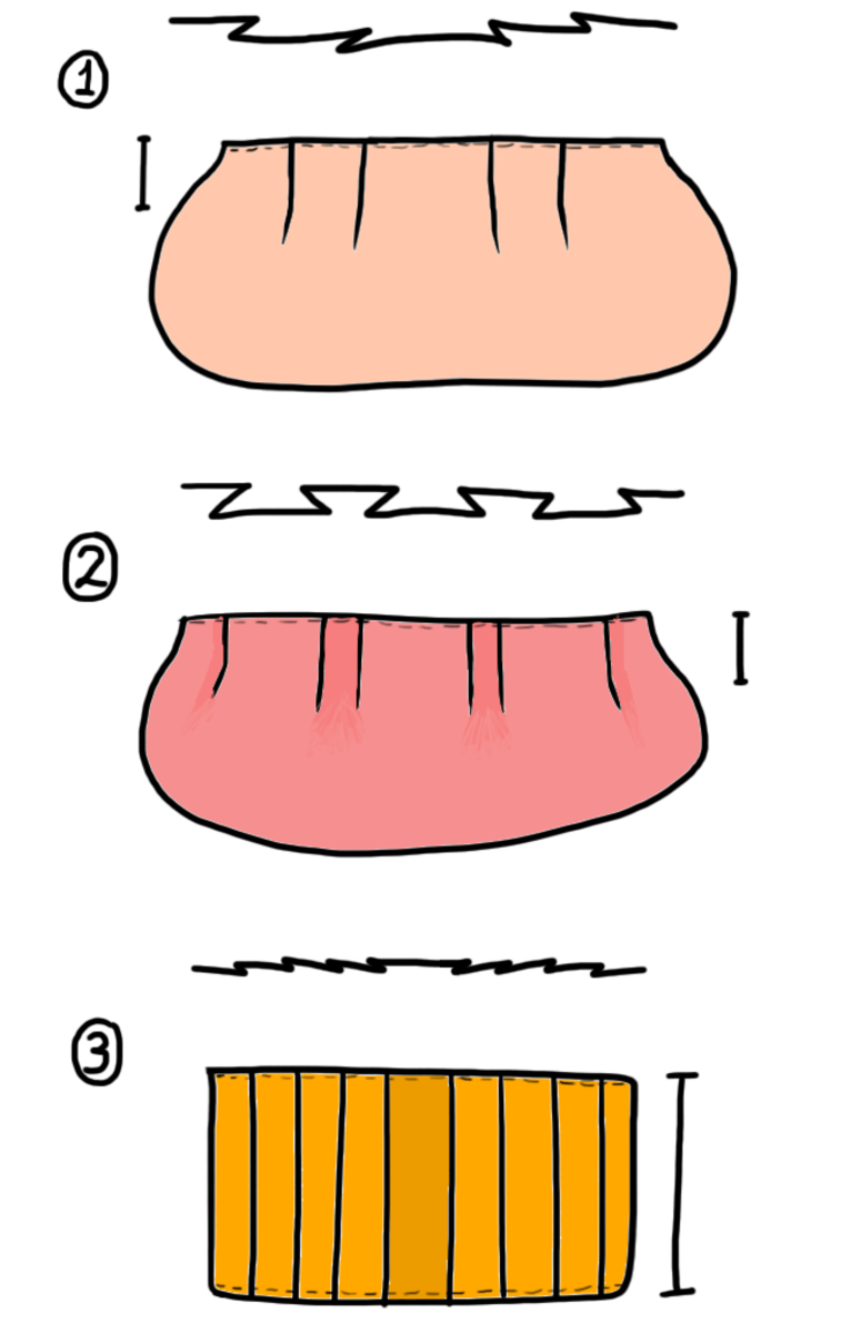 how-to-purse-pleats