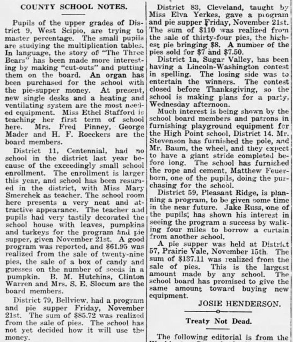 The Garnett Review  (Garnett, Kansas) 04 Dec 1919, Thu  • Page 6