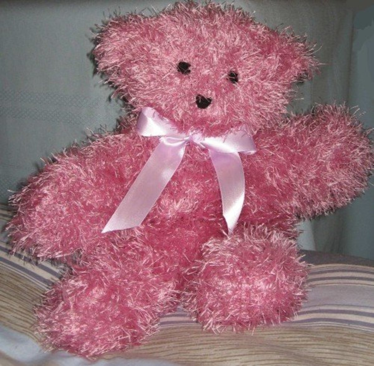 easy knitted teddy