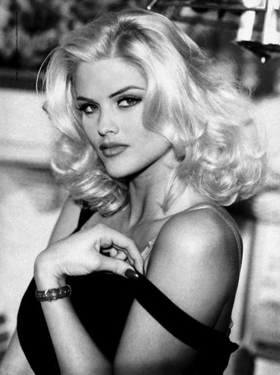 The late Anna Nicole Smith