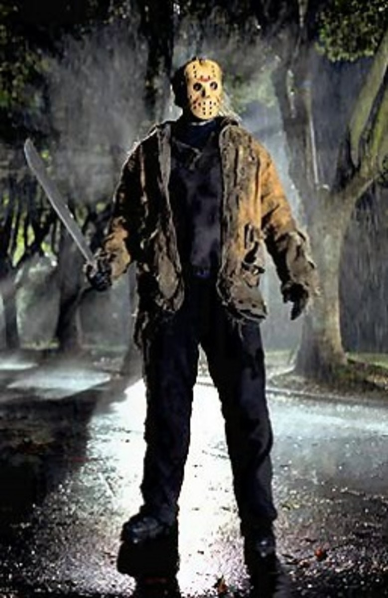 Jason Vorhees in Friday the 13th