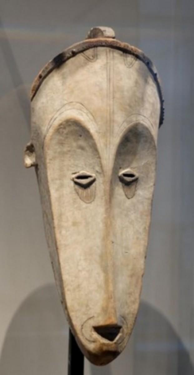 Fang African Tribal Ngil Mask