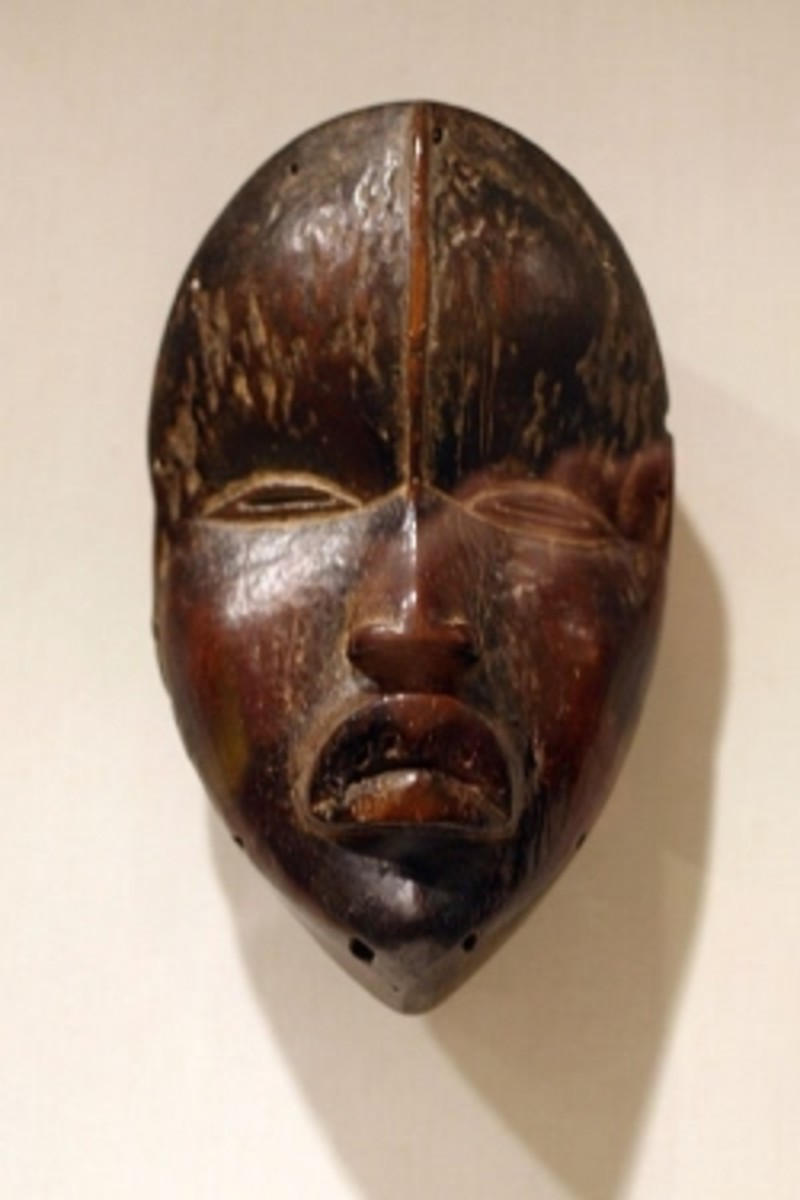 Dan Deangle African Tribal Mask