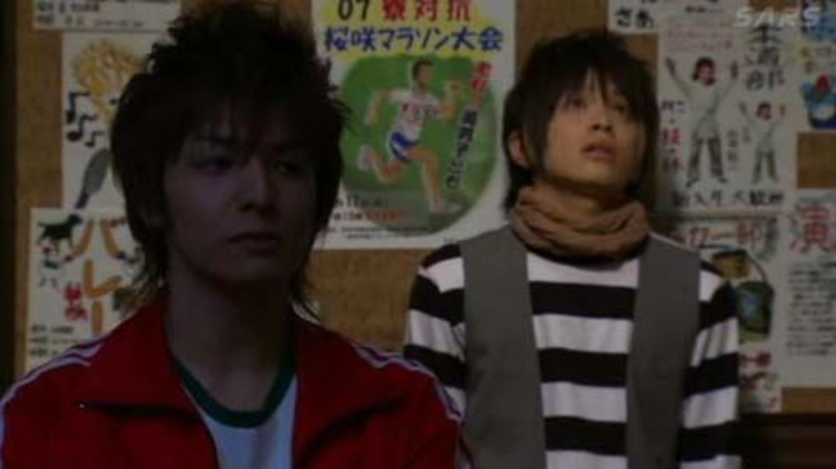 Nakatsu and Kayasima in Dorm 2