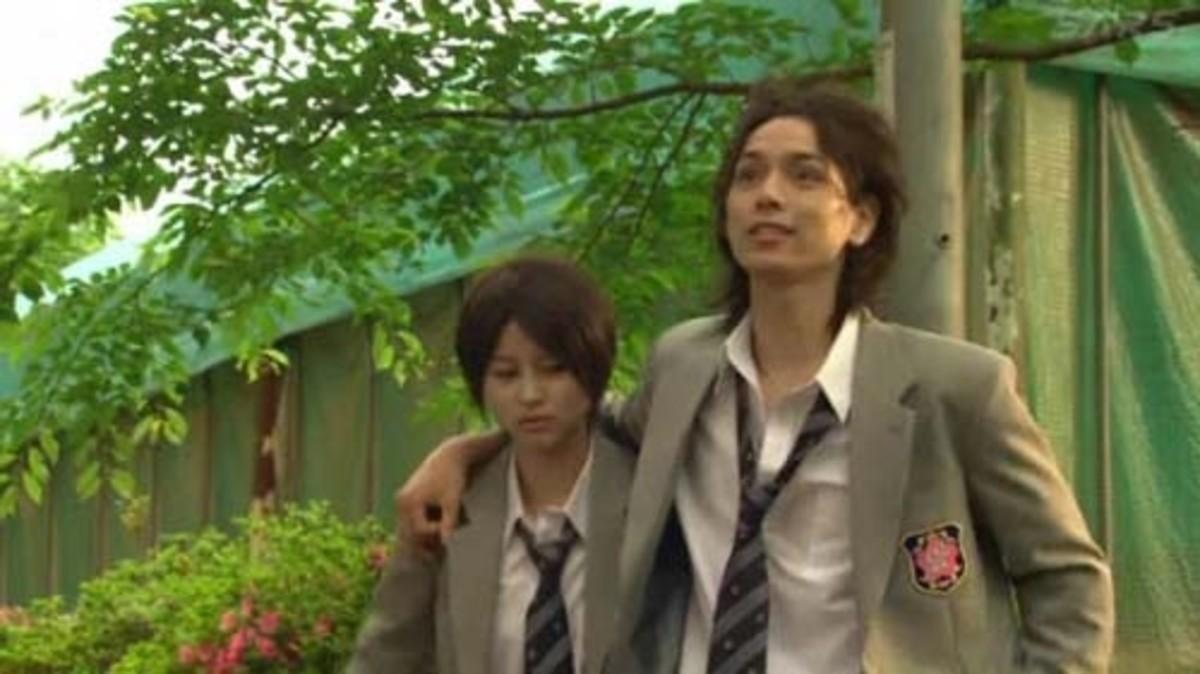 Mizuki and Dorm 2 head Nanba