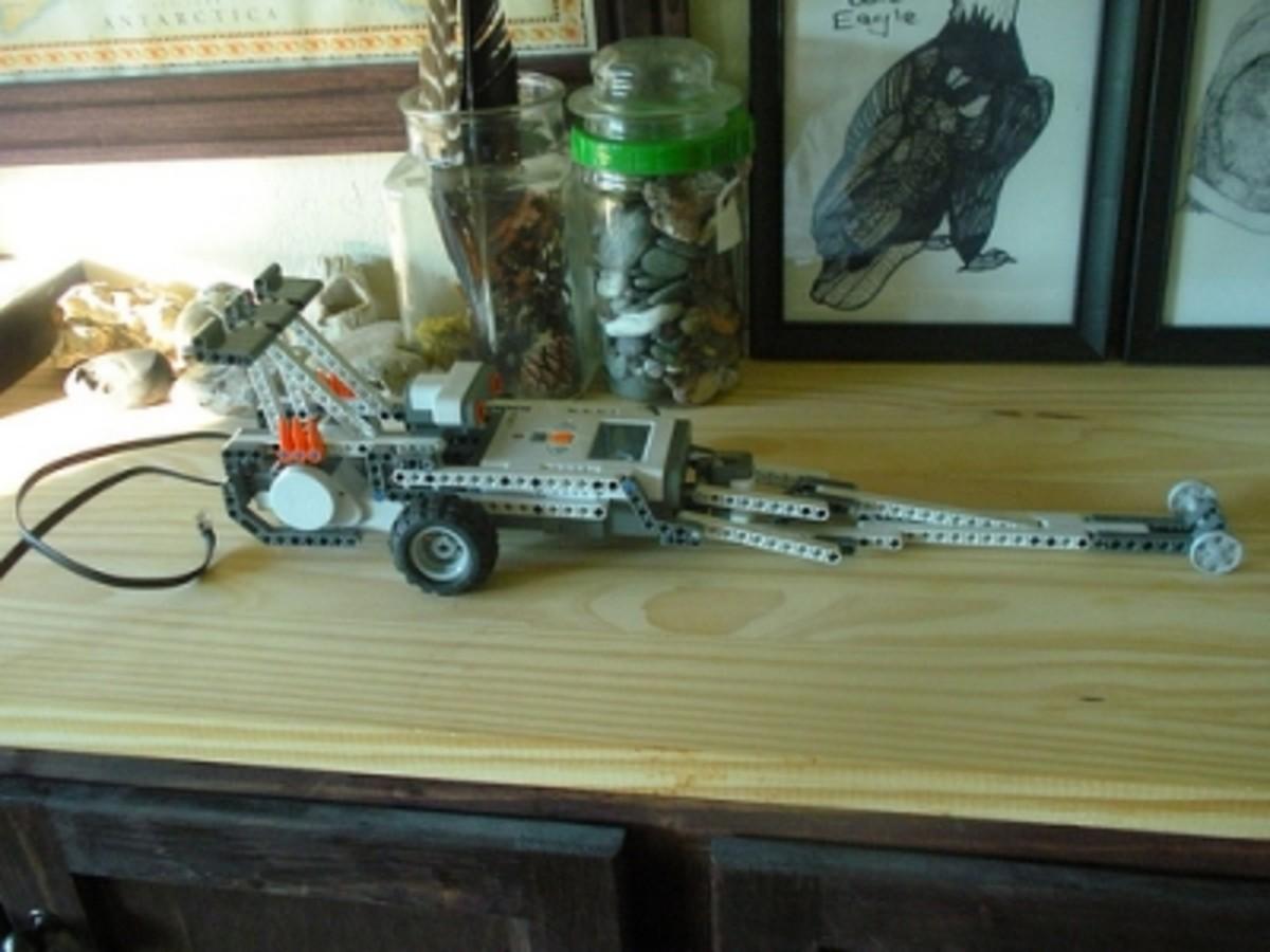Lego Mindstorms Robot Dragster