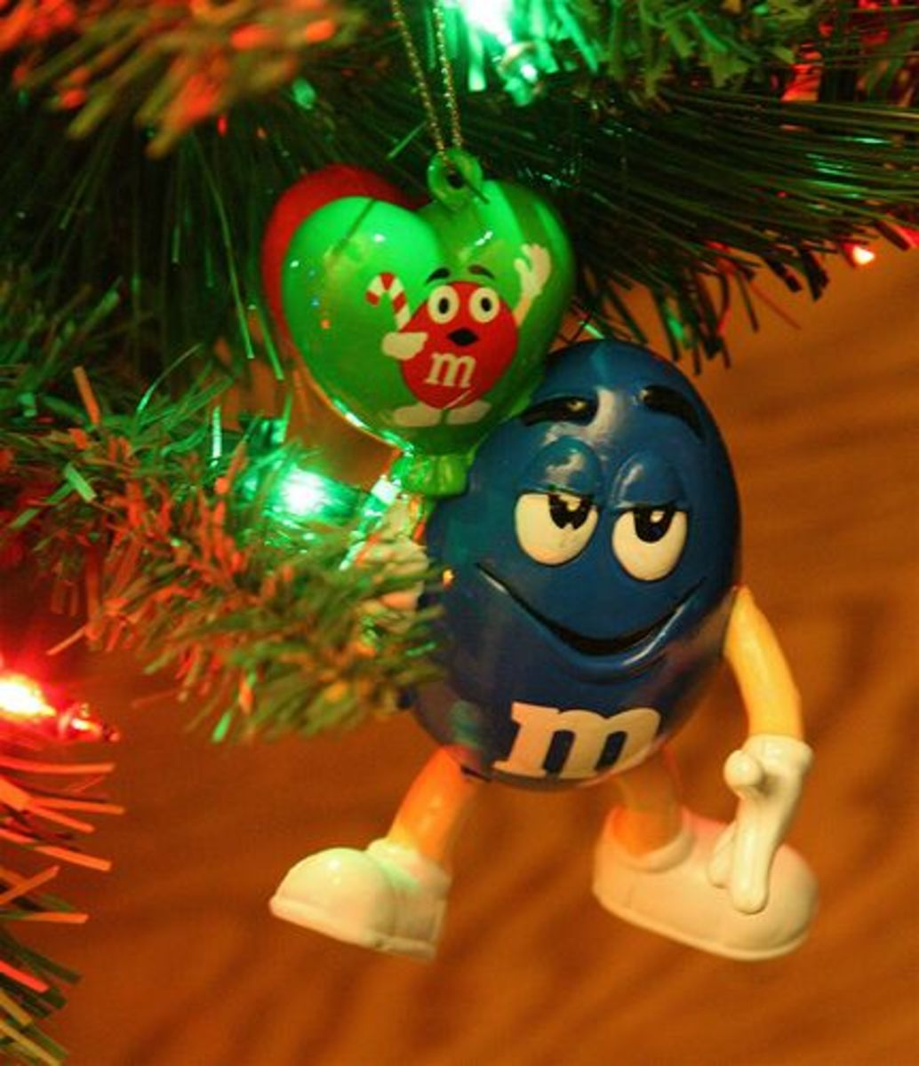 M & M Candy Christmas