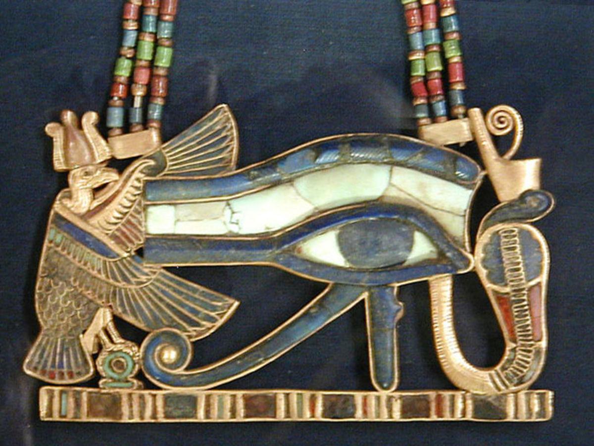 "Udjat (""Eye of Horus"") Pendant"