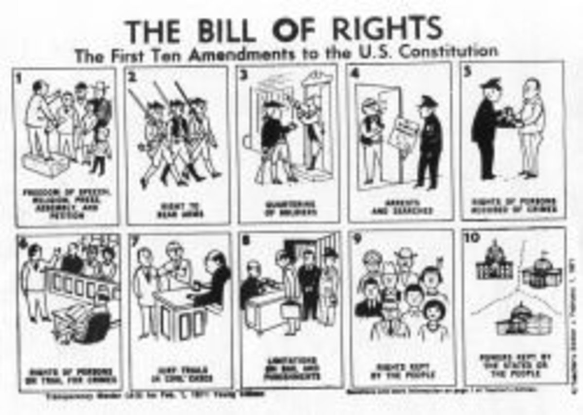 Bill of Rights Visual