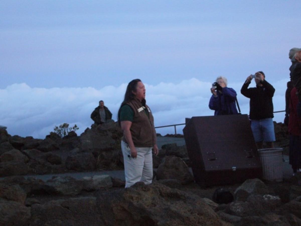 Nan Cabatbat, Haleakala National Park Cultural Educator