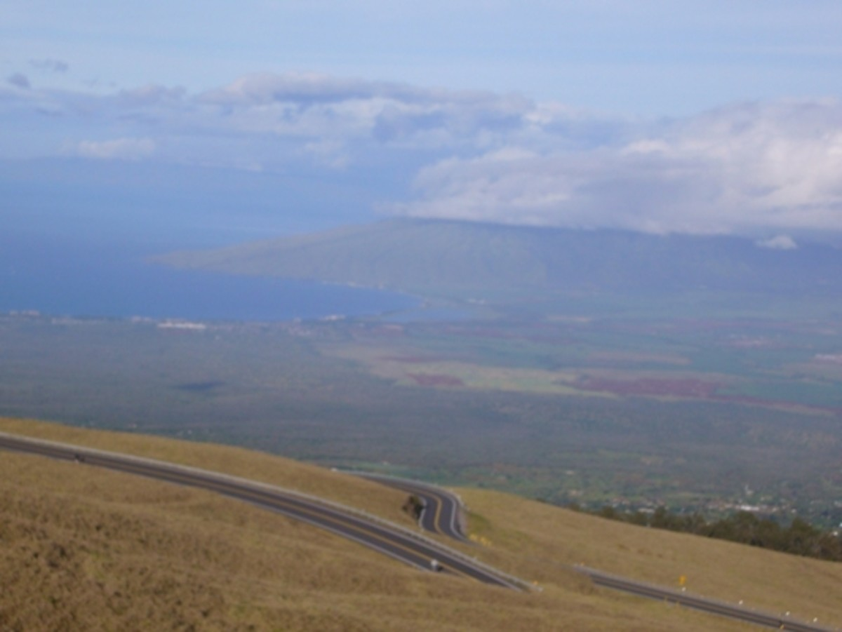 Haleakala Dowhill Bike Ride