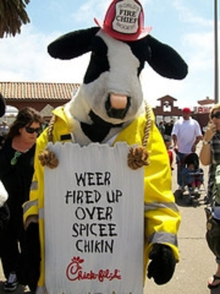 Chick-Fil-A Fire Chief by Clotee Allochuku