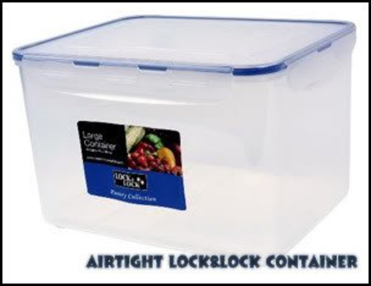 Vacuum Sealed / Airtight Container