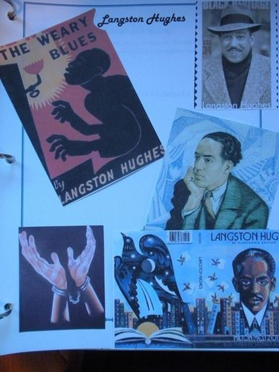 Langston Hughes Collage