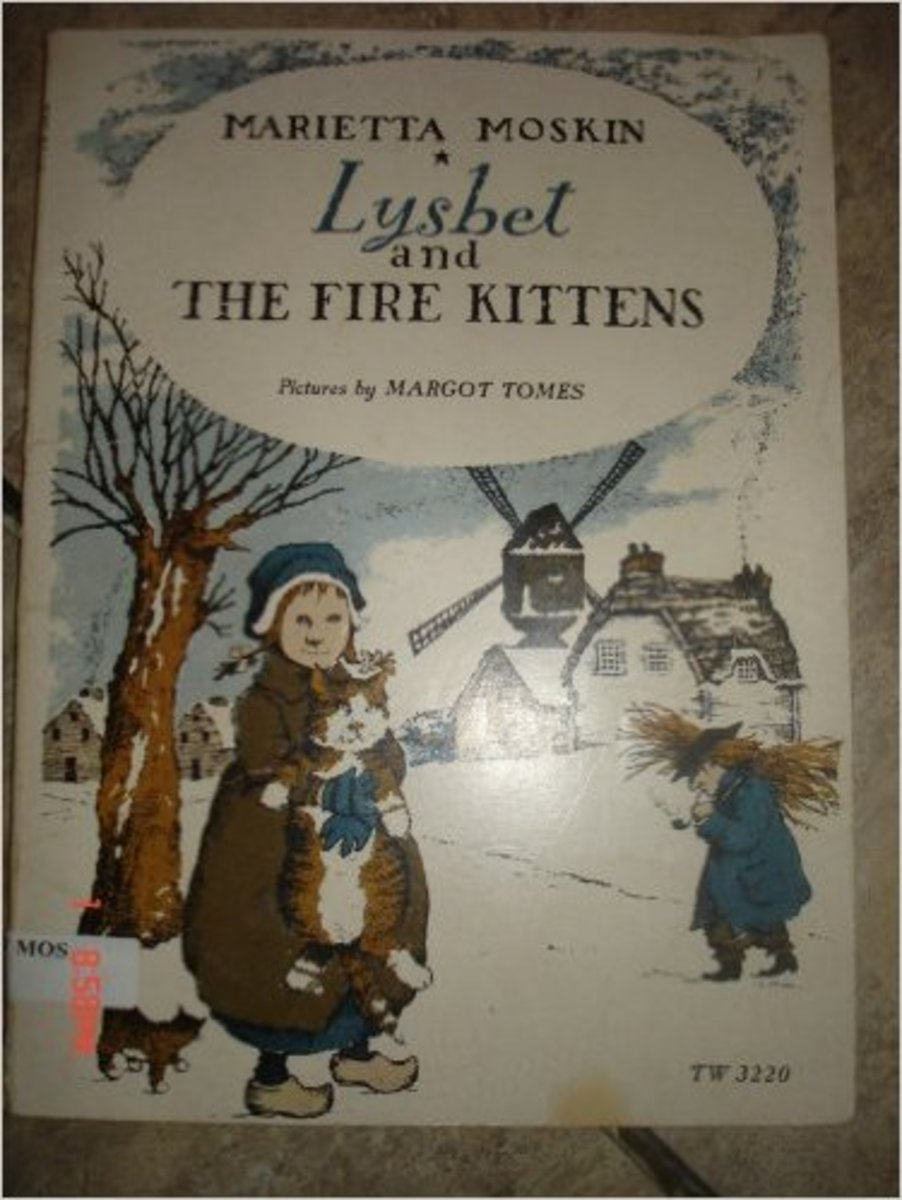 Lysbet and the Fire Kittens by Marietta Moskin