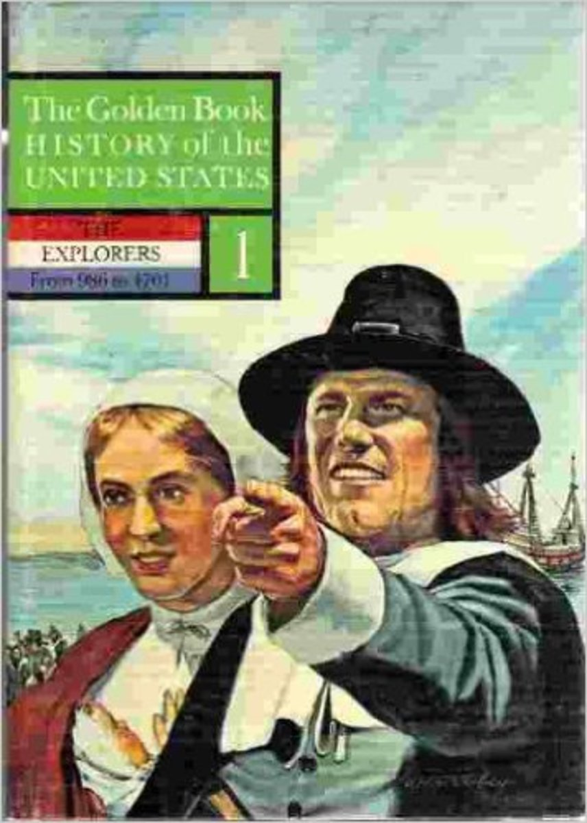The Golden Book History of the United States Volume 1: The Explorers by Earl Schenck Miers