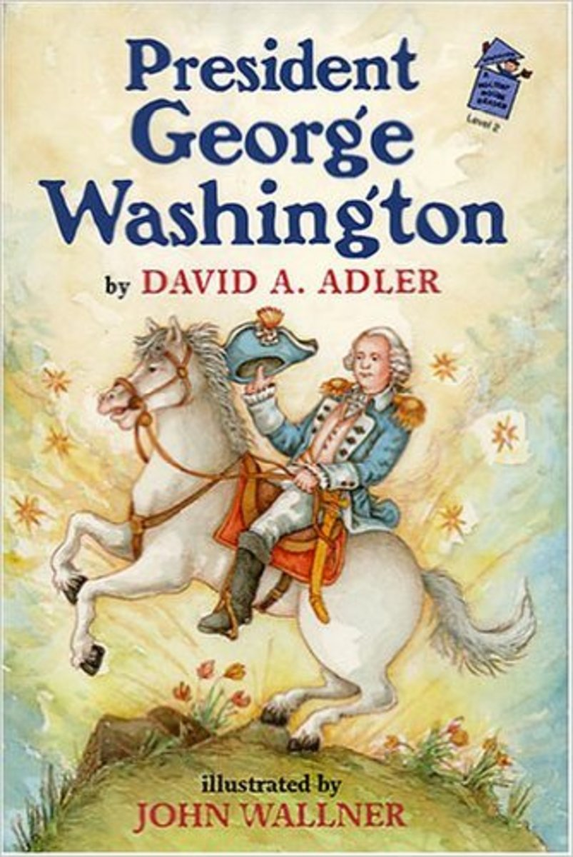 George Washington: A Holiday House Reader by David A. Adler