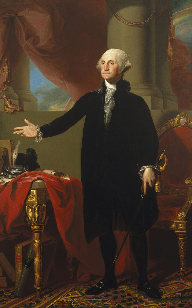 George Washington, 1796 by Gilbert Stuart