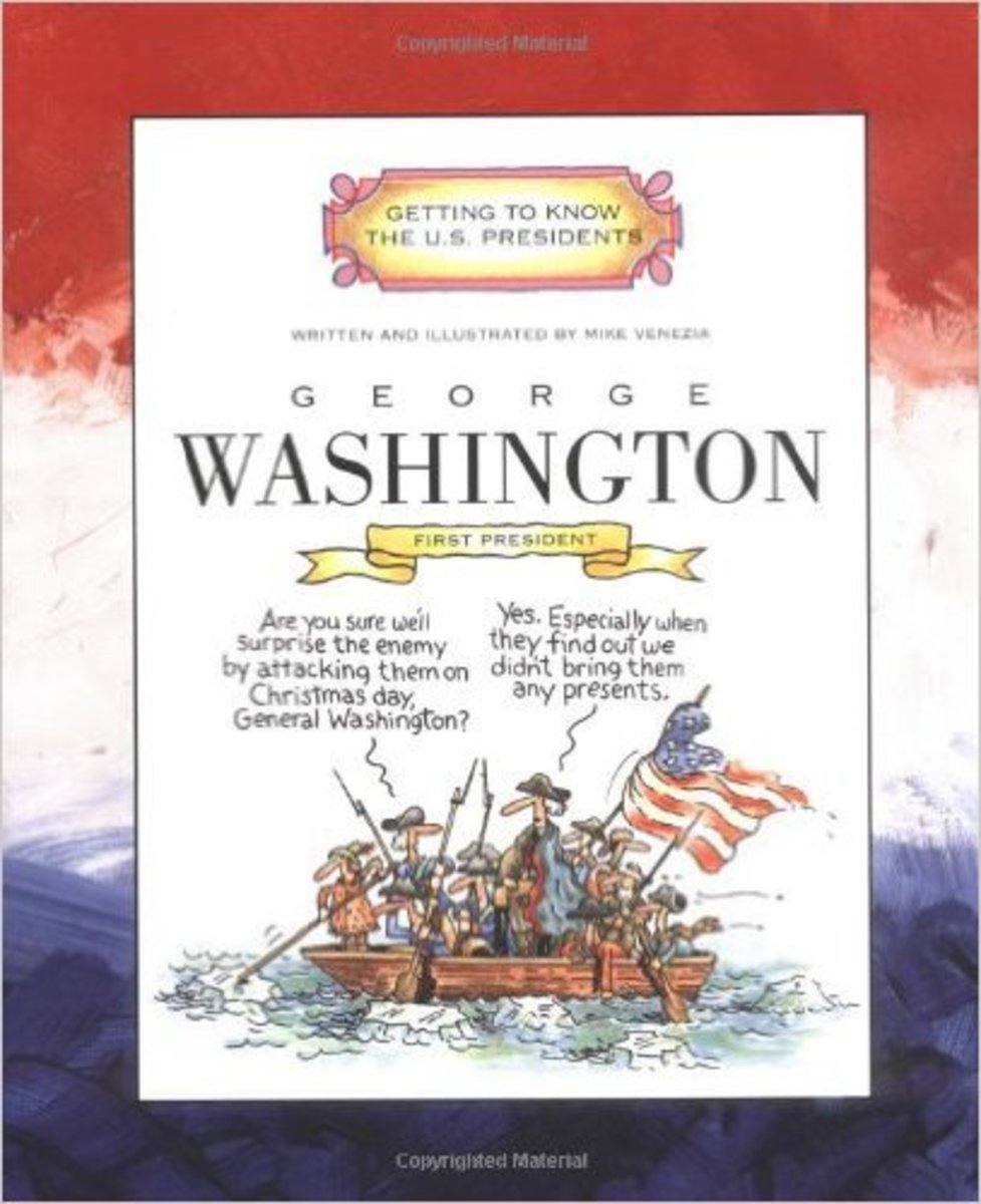 George Washington: First President 1789-1797 (Getting to Know the U.S. Presidents) by Mike Venezia