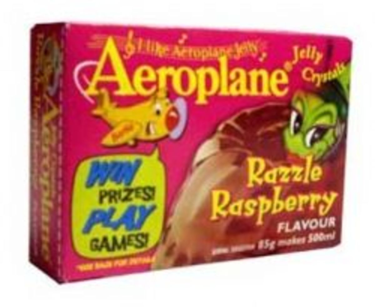 Aeroplane Jelly - from the past