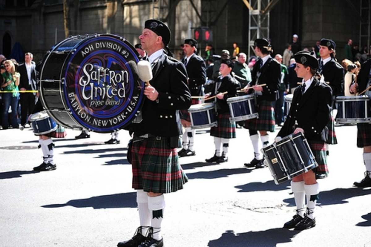 St. Patrick's Day Parade - 5th Ave. Manhattan, NYC - 03/17/10