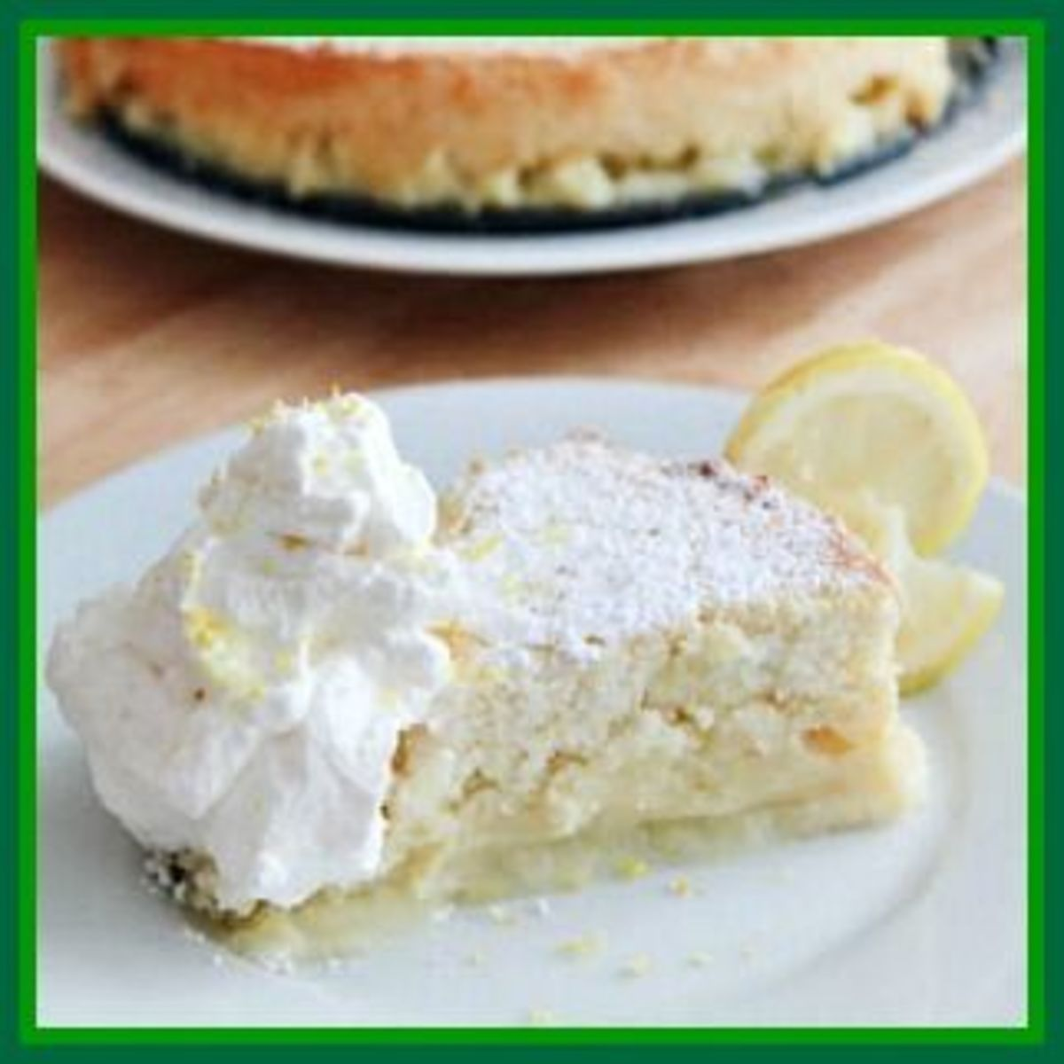 Irish Lemon Pudding