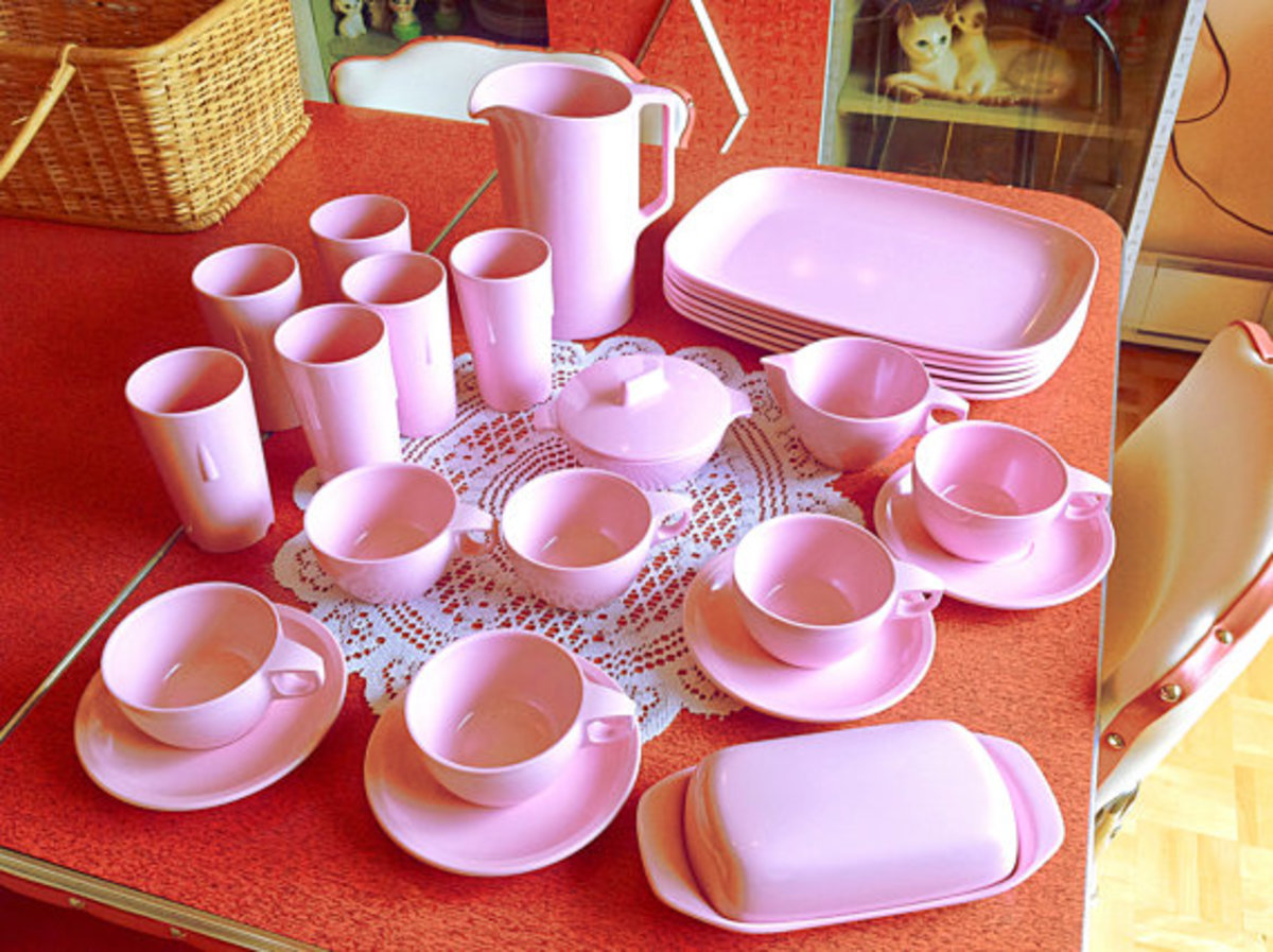 Care and Cleaning of Melmac or Melamine Dinnerware