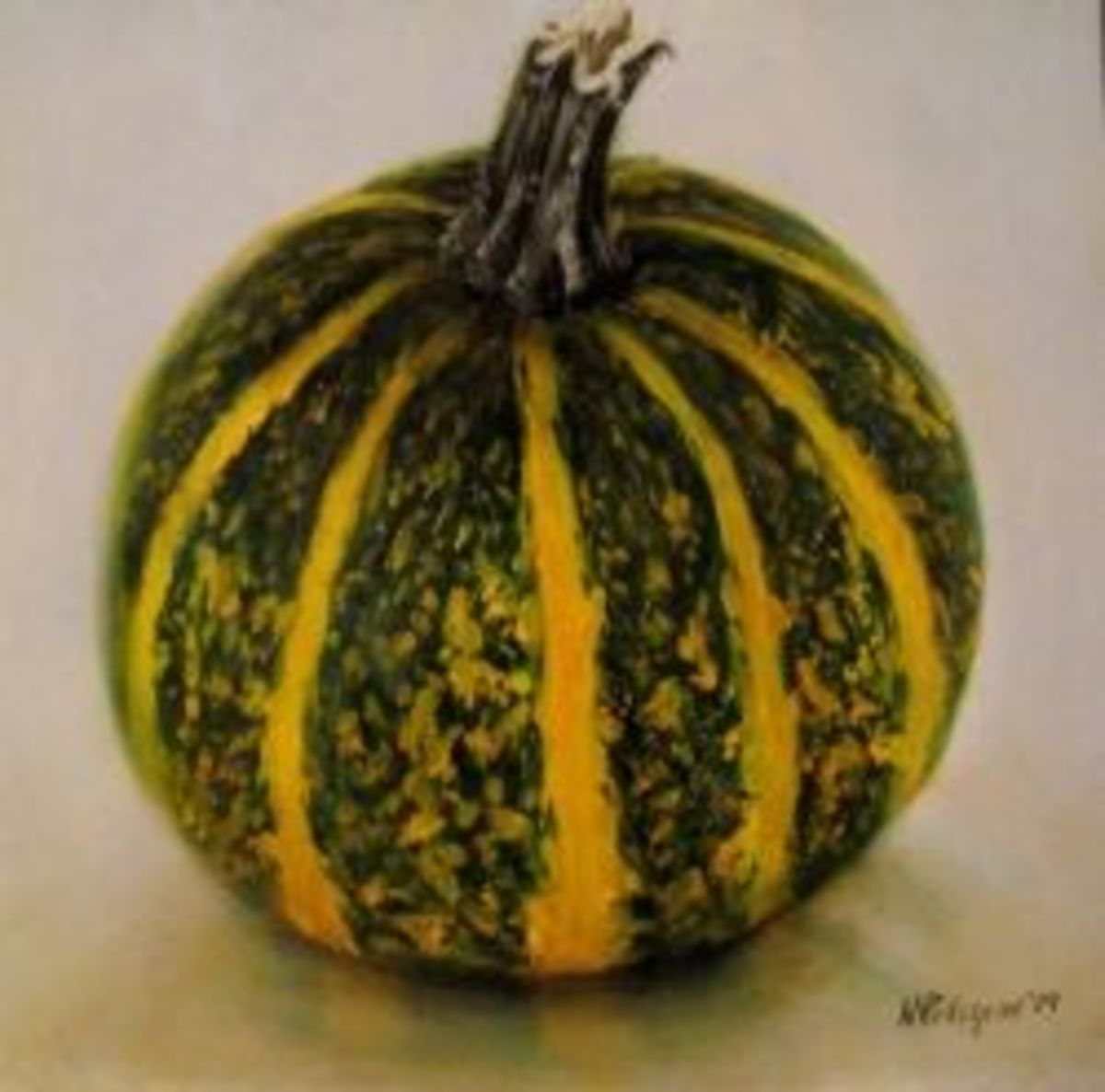 """Carnival Squash"" - Oil painting by Nicole Pellegrini"