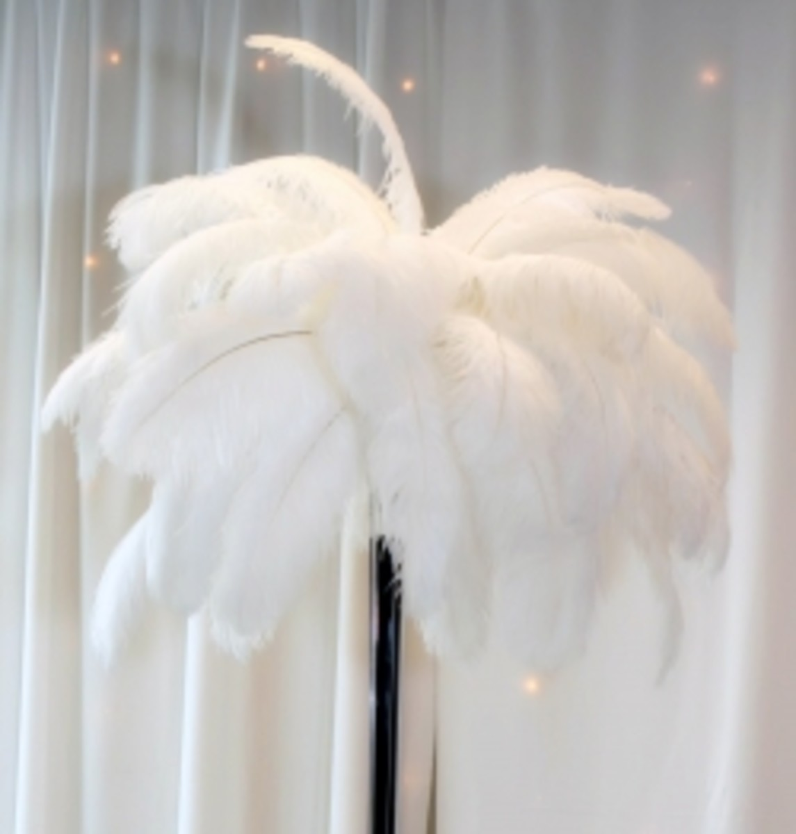 Ostrich Feather Centerpiece Tutorial