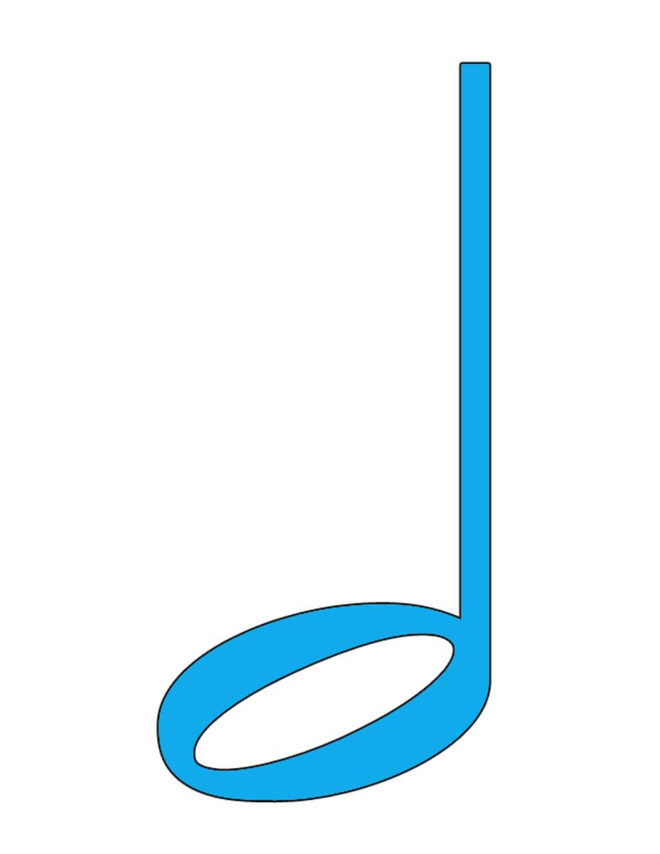Blue Half Note