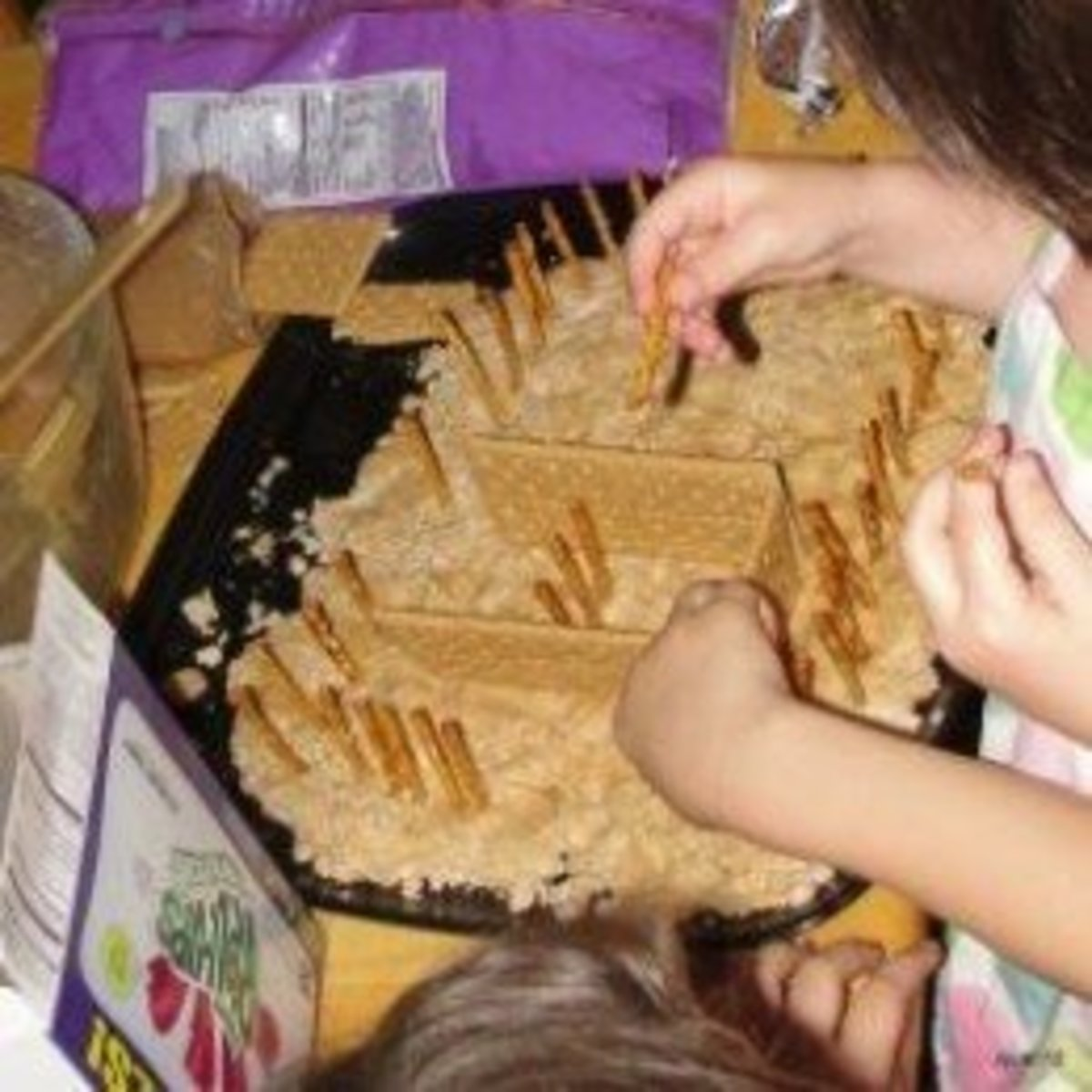 Creating an edible model of the tabernacle