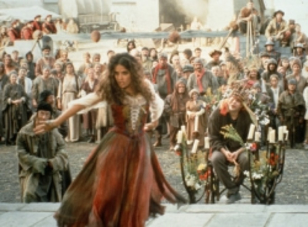Salma Hayek as Esmeralda