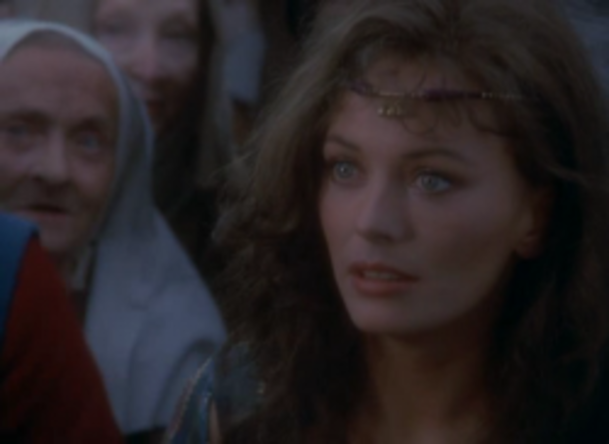 Lesley-Anne Down as Esmeralda