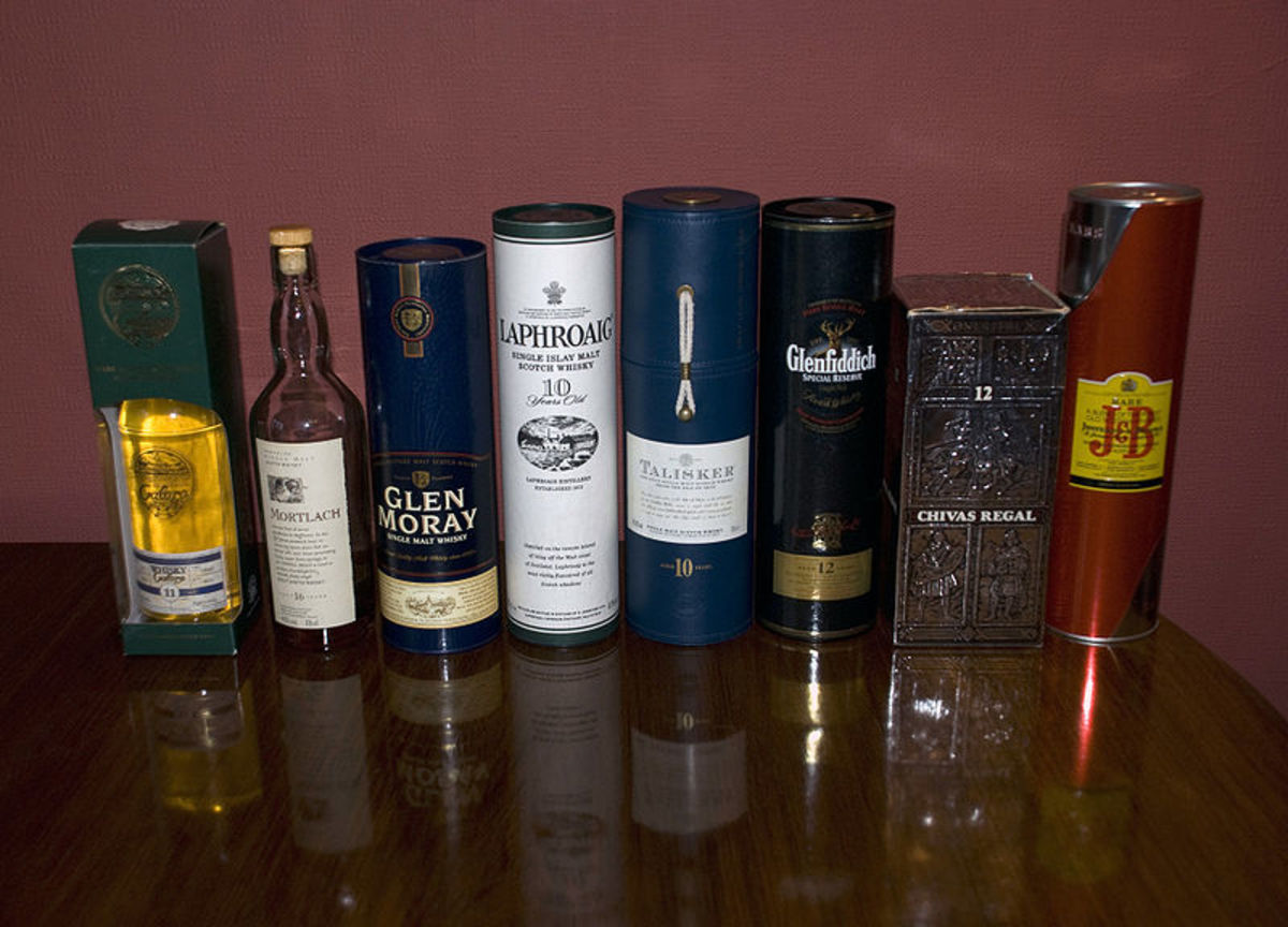 A Good Selection of Scotch Whiskey