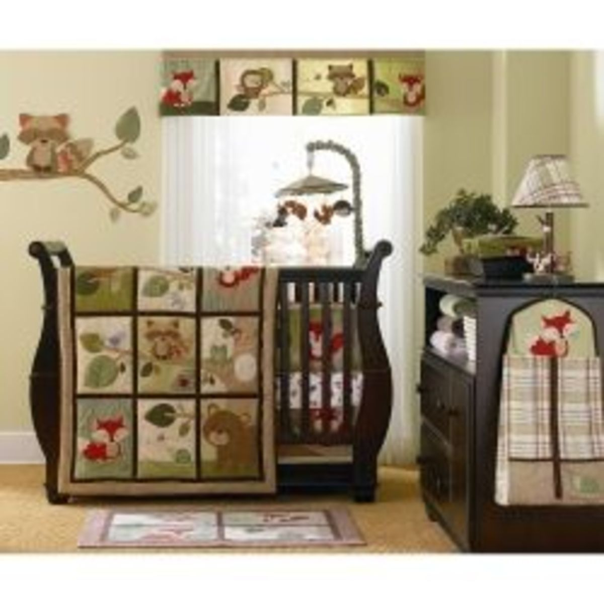 Carter's Tree Tops Nursery Decor