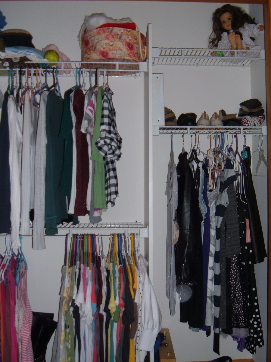 Another teenage daughter's closet