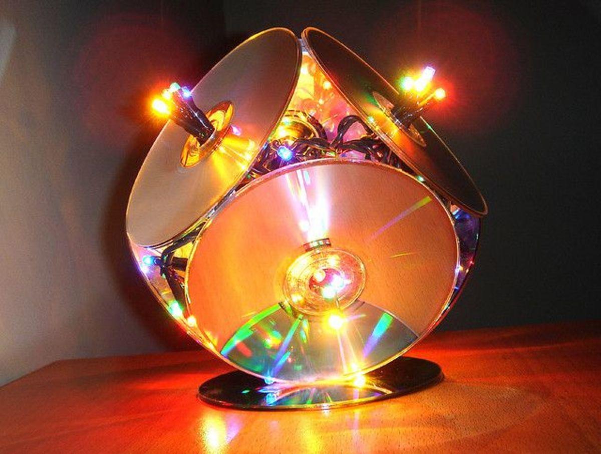 Fun light idea for Christmas or even a disco!