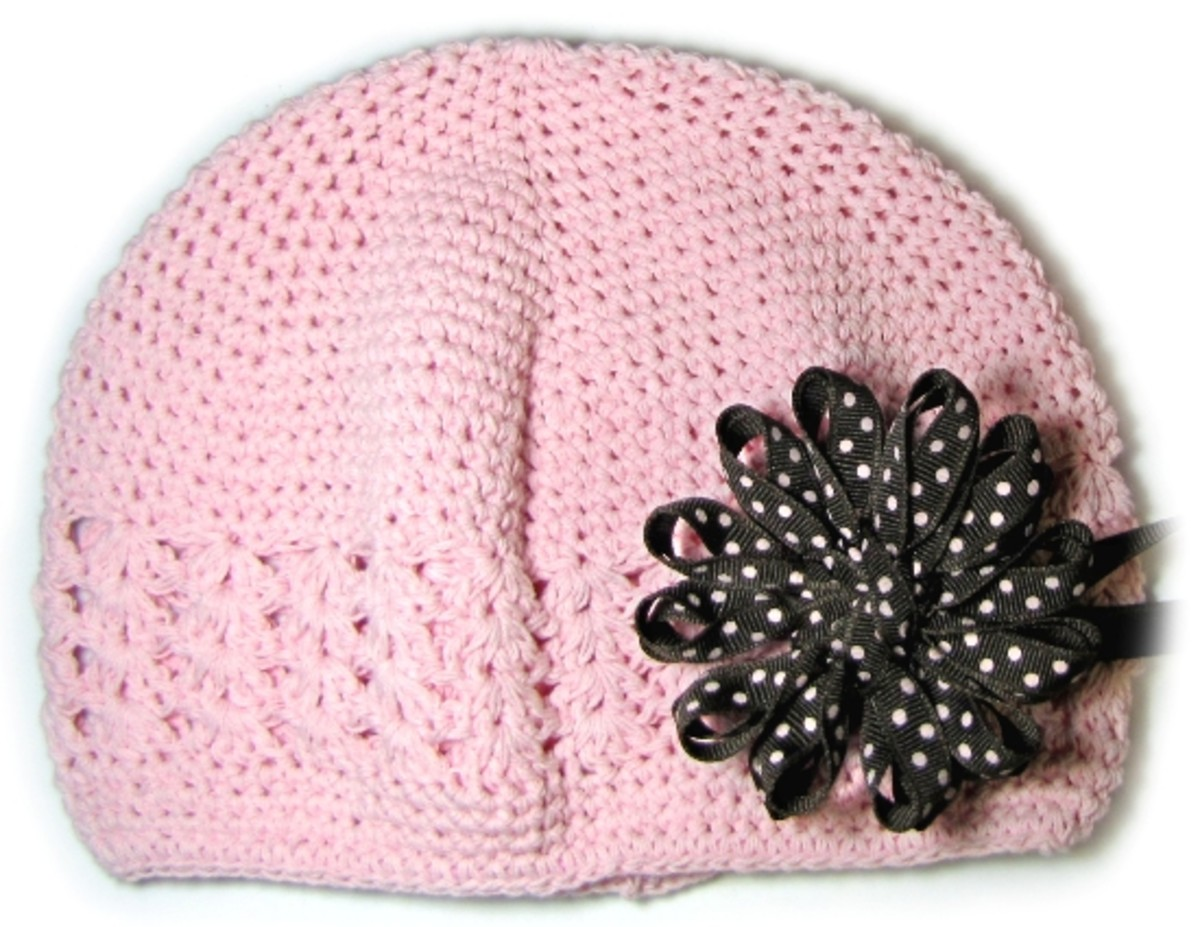 Knifty Knitter Flower Loom Bow for Knit Hat